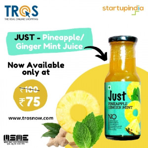 1 JUST – Pineapple/Ginger Mix Juice