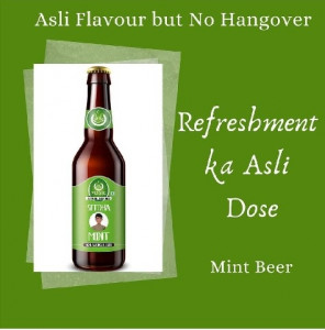 1 Yogic Mint Non-Alcoholic Beer